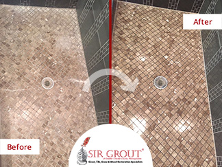 Does Your Bathroom Need a Touch-Up? Read How a Grout Recoloring ...