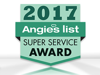 Angie's List Super Service Award 2017 for Sir Grout of Greater Chester County