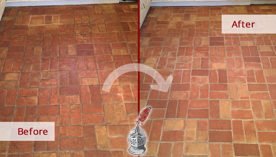 Before and after Picture of a Stone Cleaning Service in Gladwyne, PA