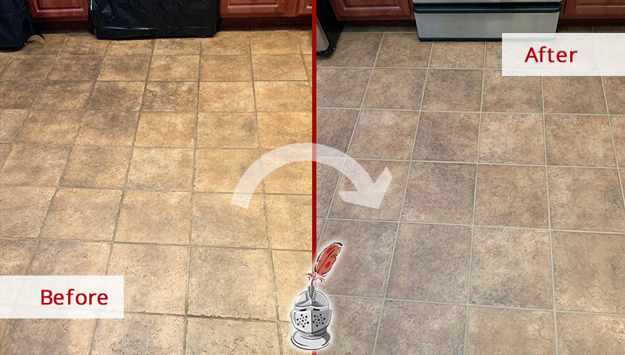 Our Team Of Tile And Grout Cleaners In Conshohocken Pa Gave